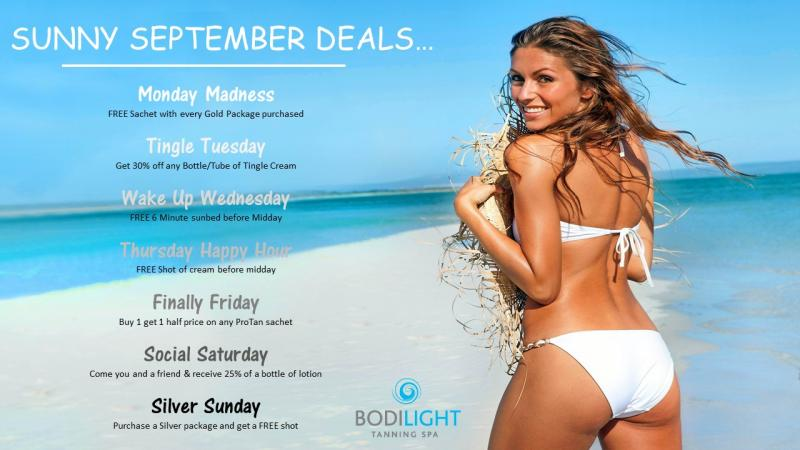 sep tanning deal